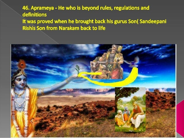47 Hrishikesa - He who controls his five senses (The controller of the sense-organs of one and all, Supreme blend of happi...