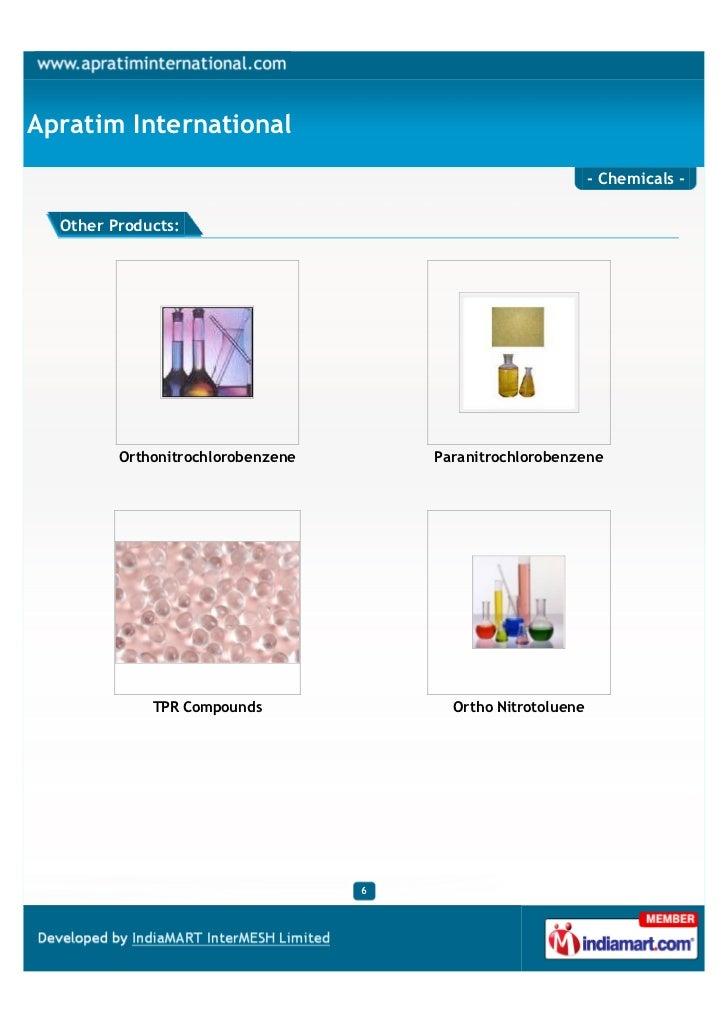 Apratim International                                                              - Chemicals -  Other Products:         ...