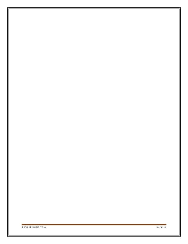 RAVI KRISHNA TEJA PAGE 12