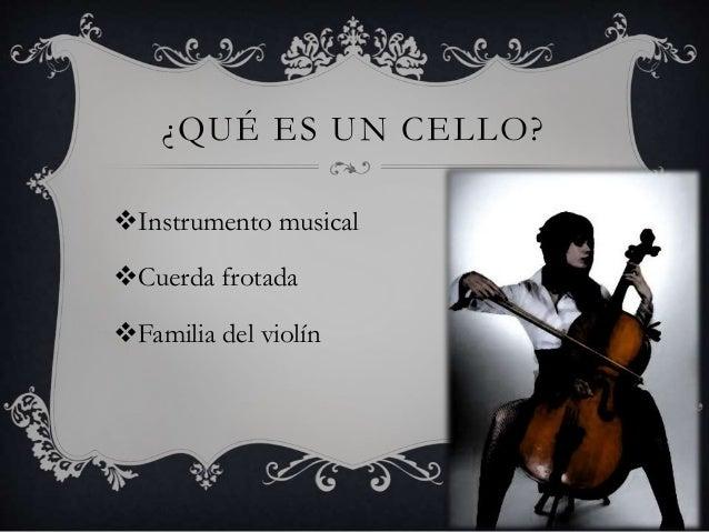 Apreciacion Musical Violoncello
