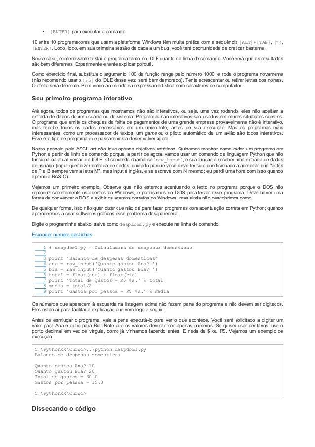 Aprenda a programar python