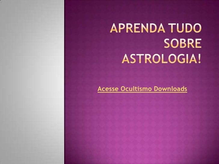Acesse Ocultismo Downloads