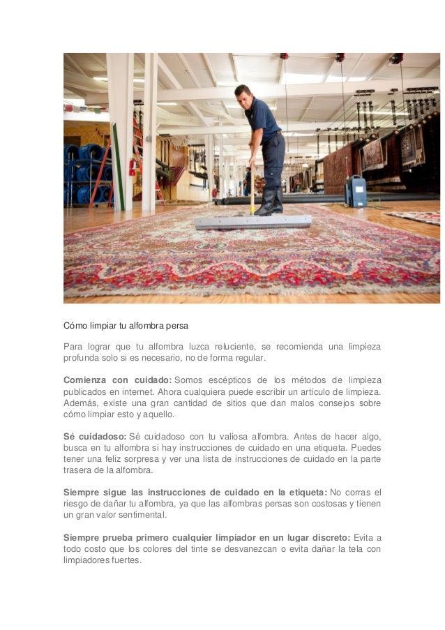Como limpiar una alfombra cmo limpiar alfombras con olor - Como limpiar una alfombra en casa ...