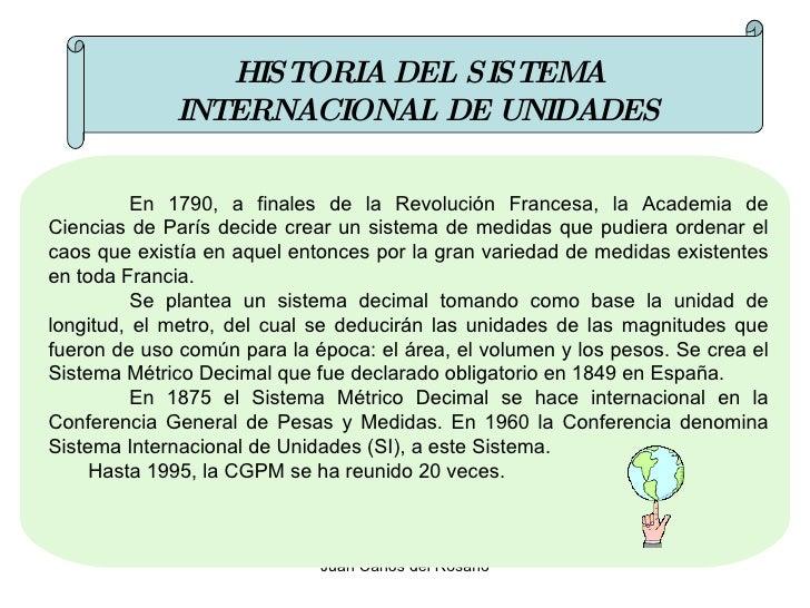 Historia del sistema internacional de unidades pdf