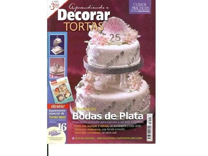 Aprendendo a decorar tortas