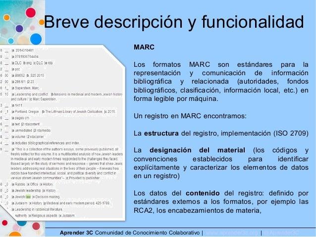 Breve descripción y funcionalidad Aprender 3C Comunidad de Conocimiento Colaborativo   www.aprender3c.org   @Aprender3C MA...