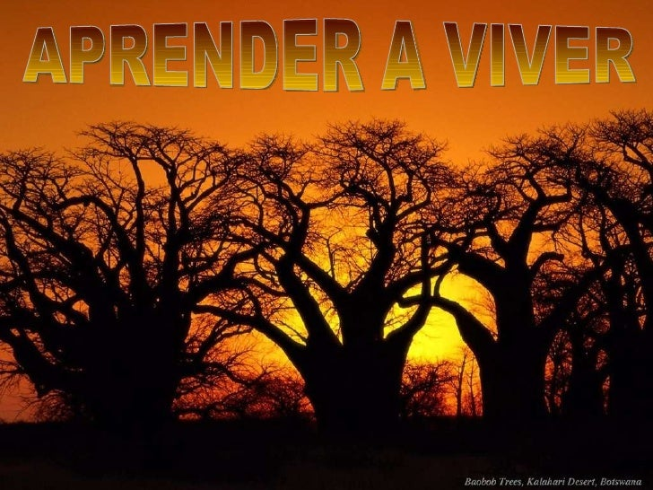 APRENDER A VIVER
