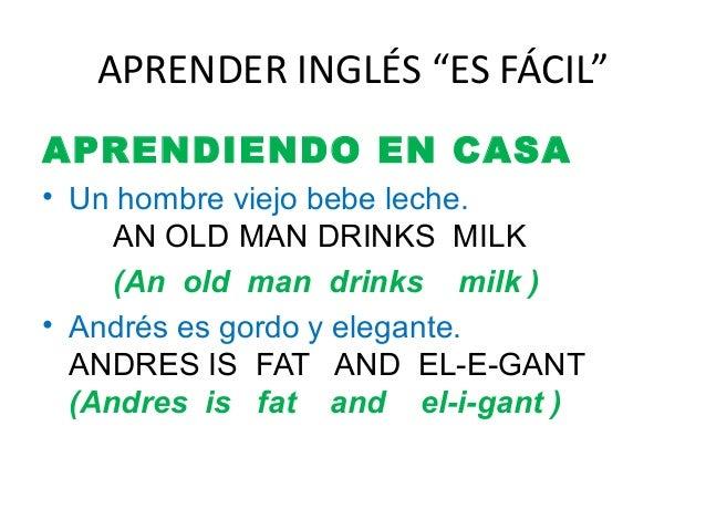 Aprender Inglés Unidad 2