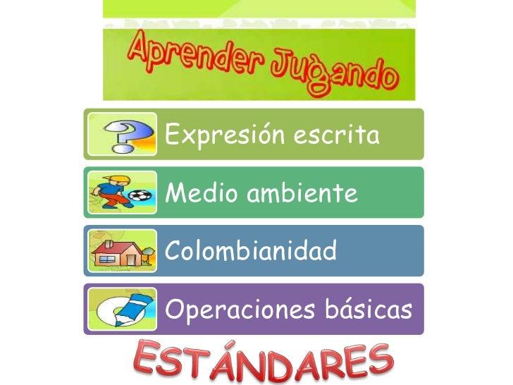 ESTÁNDARES<br />