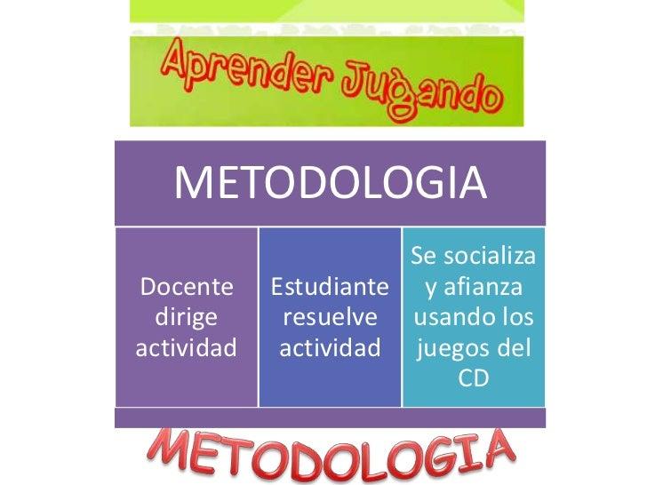 METODOLOGIA<br />