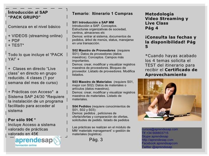 Aprendesap Curso  IntroduccióN A Sap Slide 3