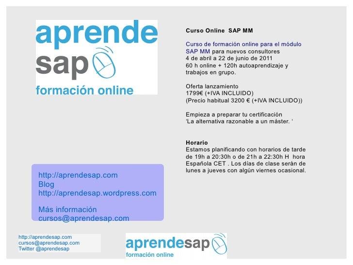 Aprendesap curso online mm abr2011