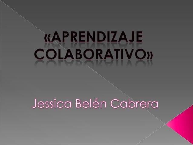 El aprendizaje colaborativo es un sistema de interacciones cuidadosamentediseñado que organiza e induce la influencia recí...