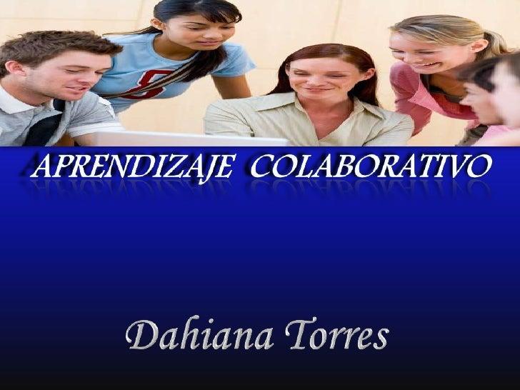 El aprendizaje colaborativo esun sistema de interacciones que organiza e inducela influencia equitativa entre los integran...