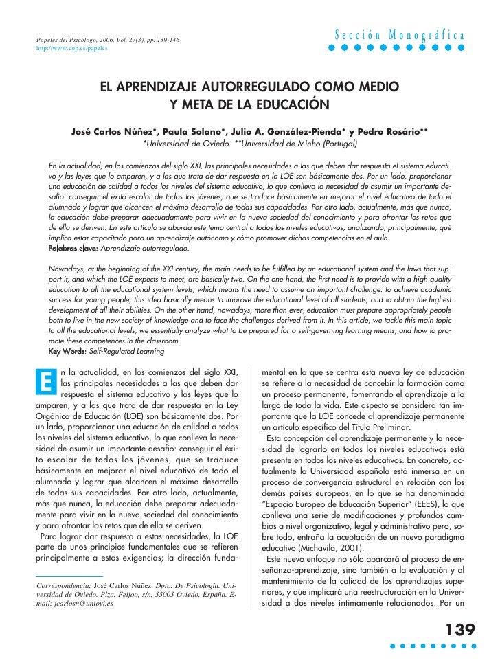 Papeles del Psicólogo, 2006. Vol. 27(3), pp. 139-146                                             Sección Monográfica http:...