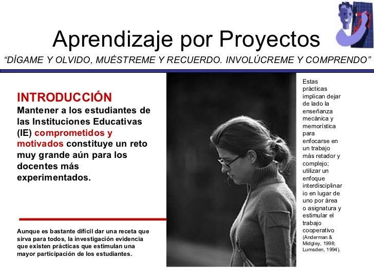 Aprendizaje Por Proyectos Slide 2