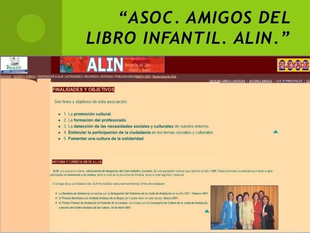 """""""ASOC. AMIGOS DELLIBRO INFANTIL. ALIN."""""""