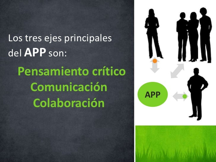 Características• El APP gira alrededor de problemas  reales.• El alumno es el protagonista (hacedor);  debe contar con var...