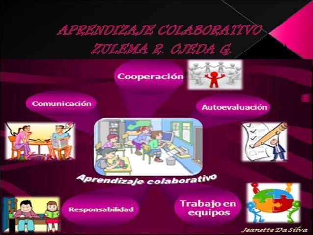 El aprendizaje colaborativo es intrínsicamente máscomplejo que el competitivo y el individualistaporque requiere que los a...