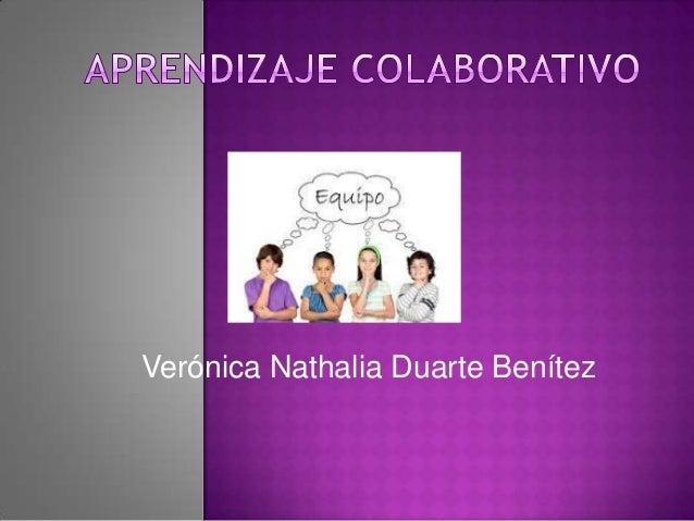Verónica Nathalia Duarte Benítez