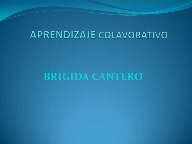 BRIGIDA CANTERO