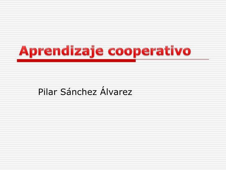 Pilar Sánchez Álvarez