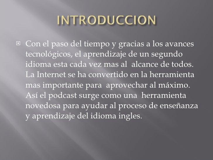 Aprendizaje Del InglèS A TravèS Del Uso Del  Final Slide 2