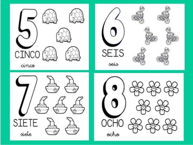 Dibujos De Los Numeros Del 1 Al 10 Para Colorear Imagesacolorier