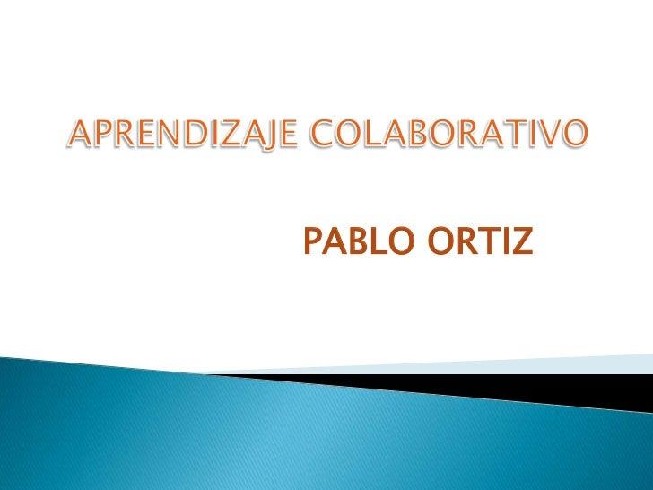 PABLO ORTIZ