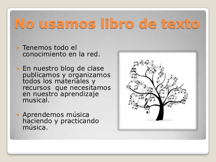 Aprendizaje musical TIC Slide 3