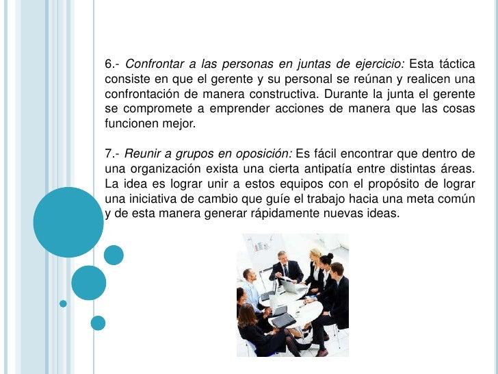 Empleados con Empowerment:Empowerment es unproceso estratégico que busca una relaciónde socios entre la organizacióny su g...