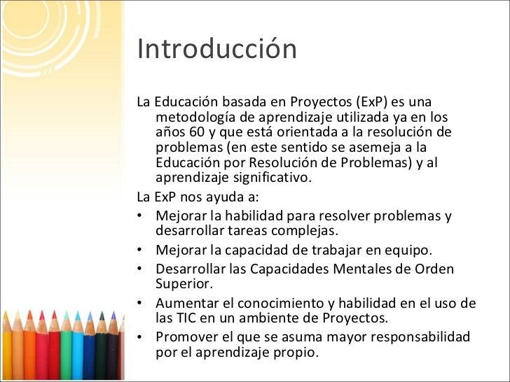 Aprendizaje Por Proyectos Slide 3