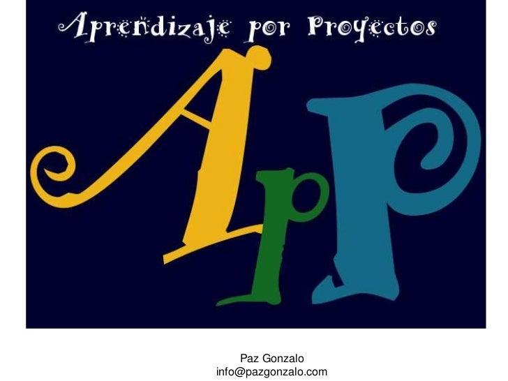 Paz Gonzalo<br />info@pazgonzalo.com<br />