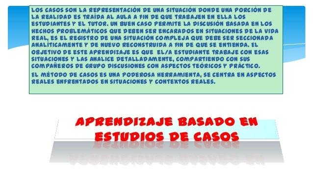 A diferencia del método expositivo el análisis de casos no consiste en la trasmisión de ideas del tutor al estudiante, en ...