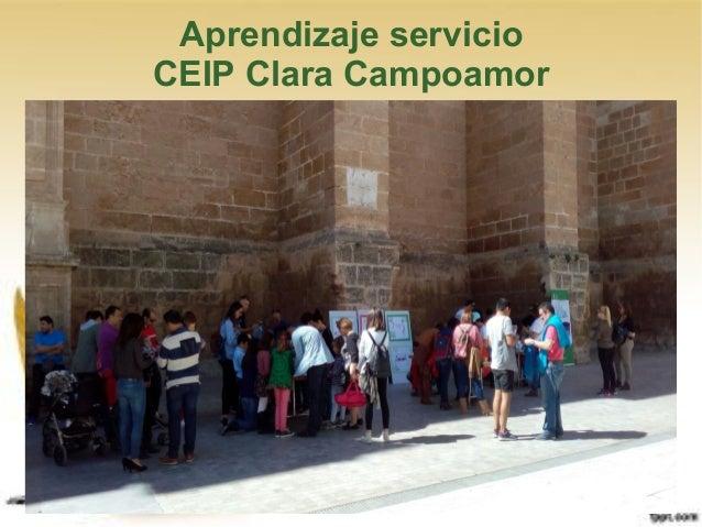 Aprendizaje servicio CEIP Clara Campoamor