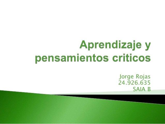 Jorge Rojas  24.926.635  SAIA B