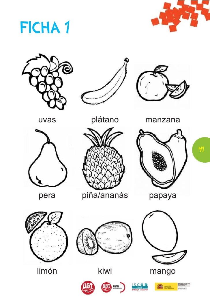 Increíble Hoja De Banana Para Colorear Componente - Dibujos Para ...
