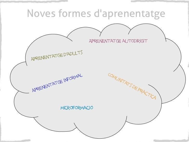 Noves formes daprenentatge                                    Aprenentatge autodirigit                   lts        tatge ...