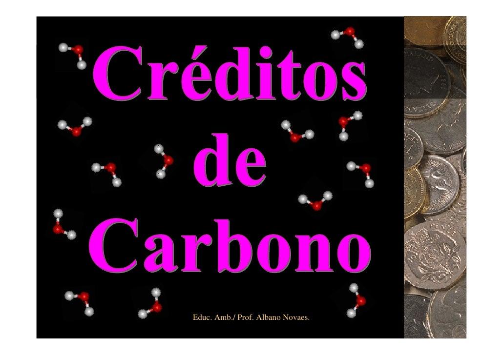 Educ. Amb./ Prof. Albano Novaes.   1