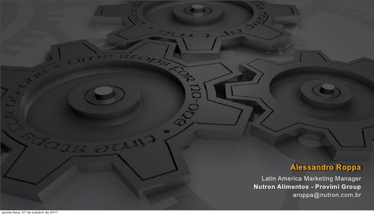 Alessandro Roppa                                        Latin America Marketing Manager                                   ...