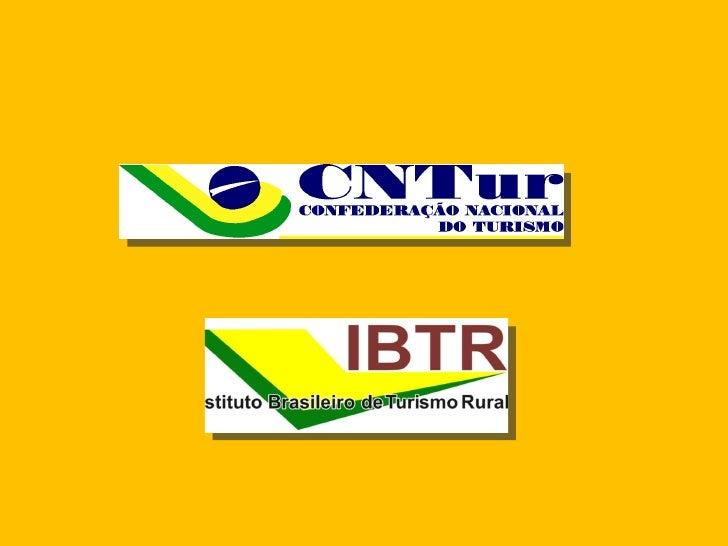    O IBTR, vem para subsidiar o empresário rural     na diversificação de sua fonte de renda a partir     da inclusão da ...