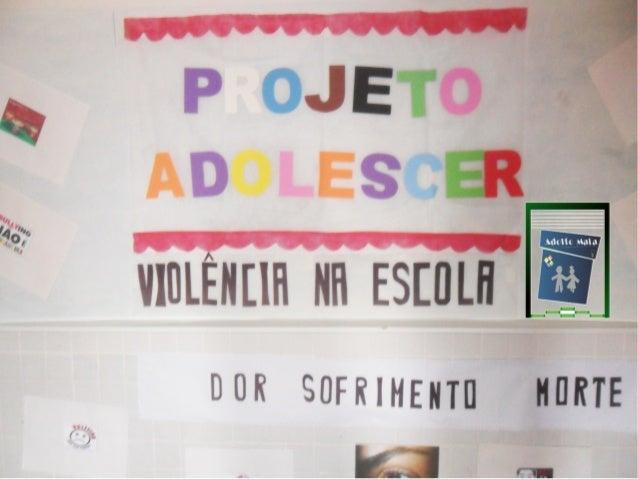 Projeto Adolescer 2013
