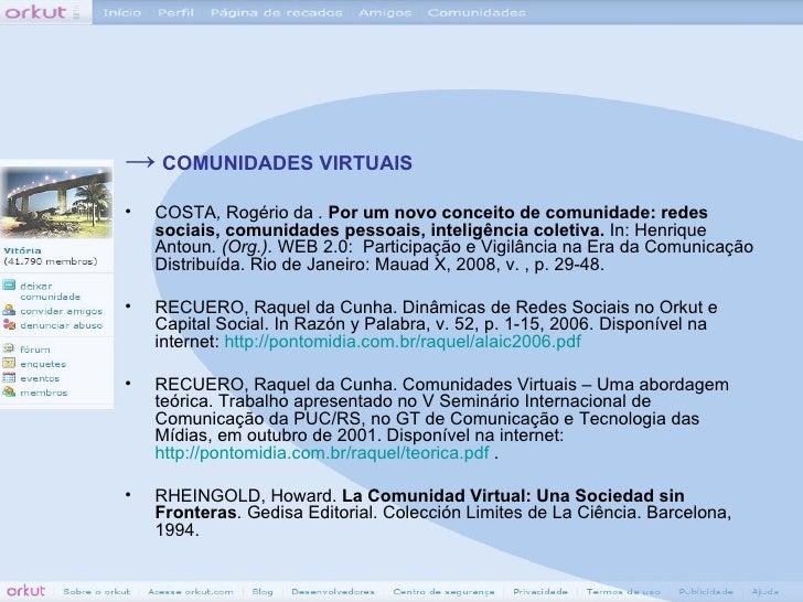 Participação Capixaba na Comunidade Vitória do Orkut Slide 3
