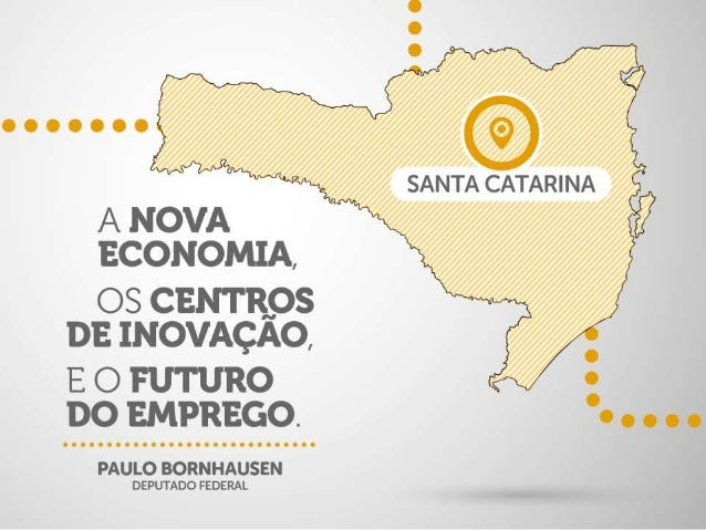 A Nova Economia, os Centros de Inovação e o futuro do emprego