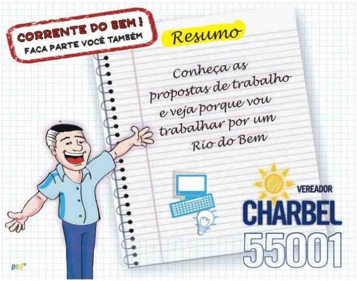 Propostas de trabalho Charbel Rio - 55001