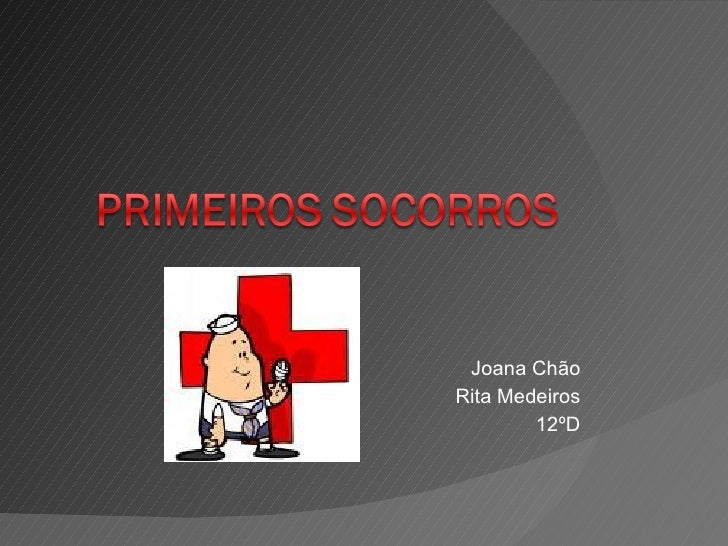 Joana Chão Rita Medeiros 12ºD