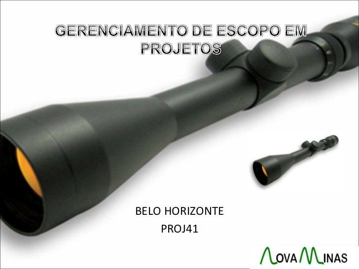 BELO HORIZONTE    PROJ41