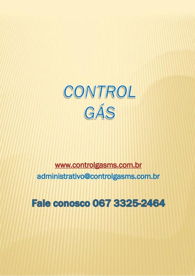 www.controlgasms.com.br administrativo@controlgasms.com.br