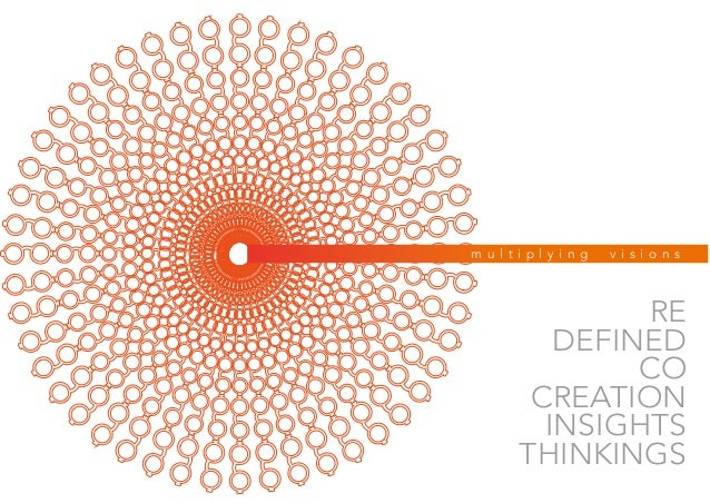 m u l t i p l y i n g v i s i o n s RE DEFINED CO CREATION INSIGHTS THINKINGS