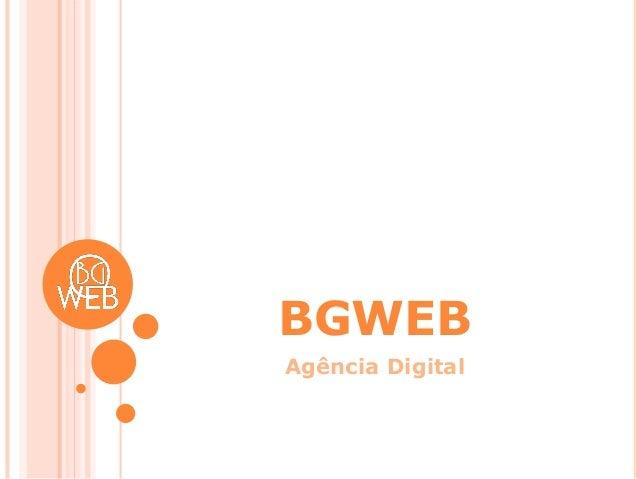 BGWEB Agência Digital